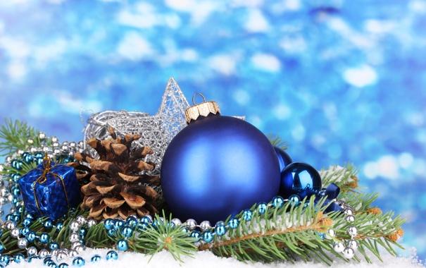 Фото обои свет, украшения, lights, ожерелье, подарки, Новый год, new year