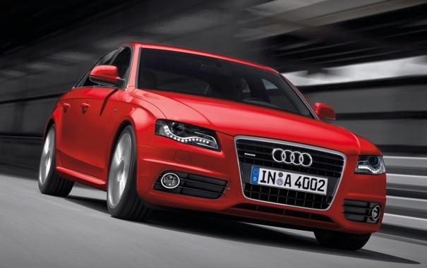 Фото обои car, красный, ауди, обоя, скорость, red, спорткар