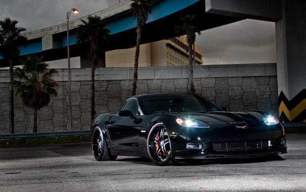 Фото обои Corvette, Chevrolet, z06