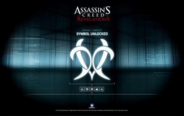 Фото обои The, Creed, Assassins, Revelations, Unlock, Animus