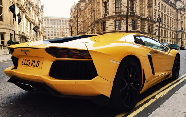 Фото обои Lamborghini, Aventador, LP 700-4