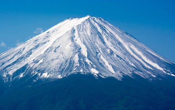 Фото обои небо, гора, Япония, Фудзияма