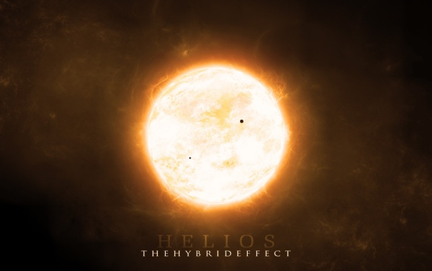 Фото обои солнце, свет, корона, протуберанцы, helios