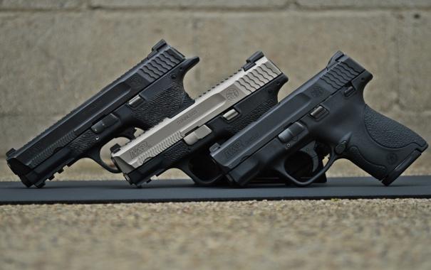 Фото обои оружие, пистолеты, Smith & Wesson, M&P