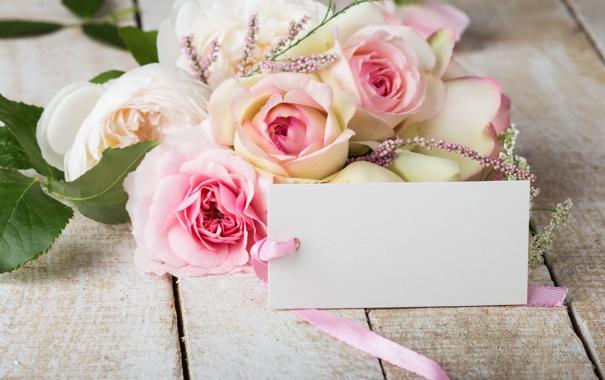 Фото обои розы, букет, pink, flowers, soft, roses