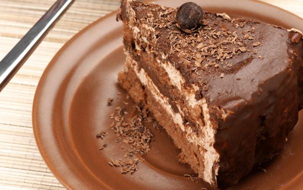 Фото обои шоколад, шарик, торт, крем, десерт, сладкое, крошка