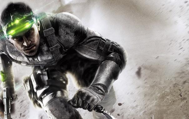 Фото обои герой, нож, агент, шпион, фишер, splinter cell: black list