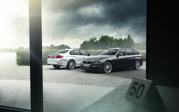 Фото обои бмв, BMW, F30, 3 Series, 2013, Alpina, F31