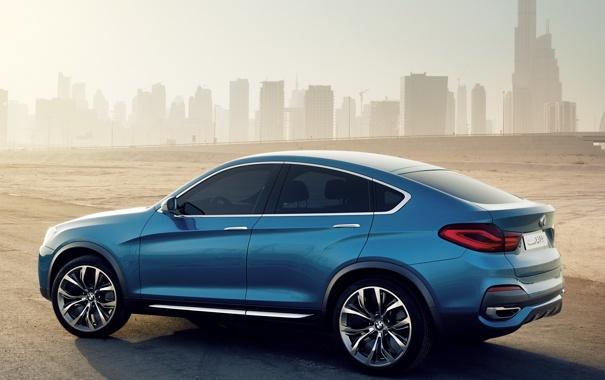 Фото обои Concept, бмв, BMW, большой, концепт, автомобиль