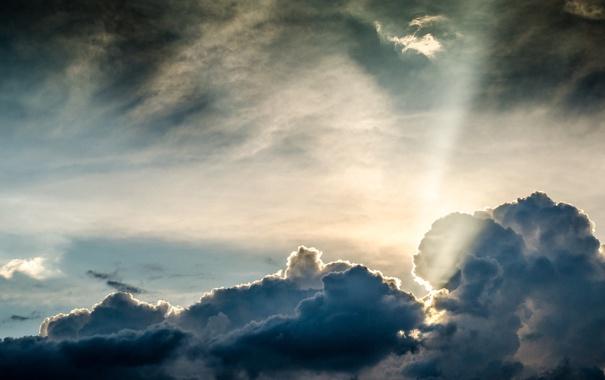 Фото обои небо, облака, пейзаж