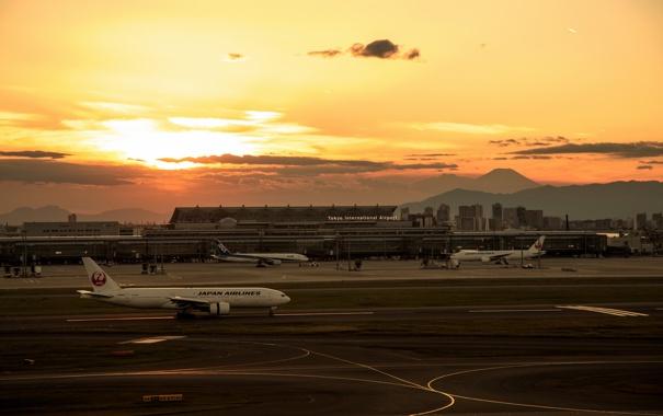 Фото обои Tokyo, Japan, Tokyo Prefecture, Hanedakuko 3 Chome