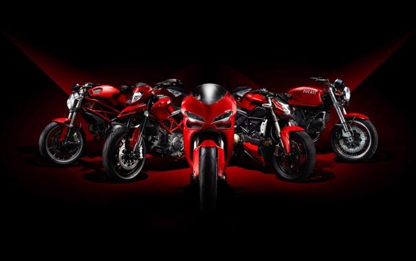 Фото обои мотоциклы, bike, ducati, байки, дукати, модельная линия, Model Line