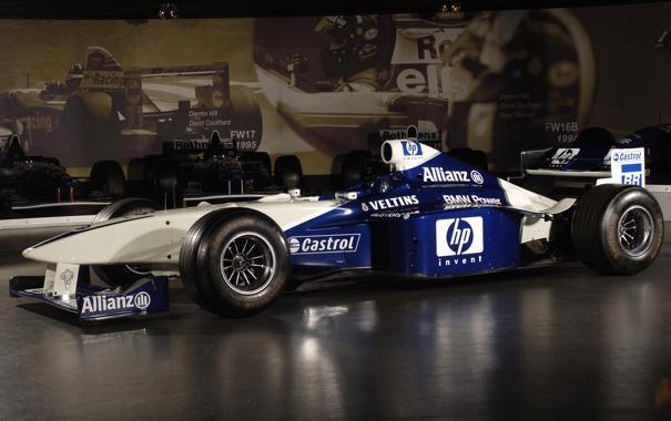 Фото обои машина, бмв, BMW, формула 1, болид, 2000, Williams