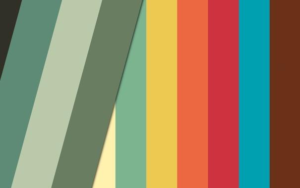 Фото обои абстракция, полосы, краски, минимализм, colors, minimalism, stripes
