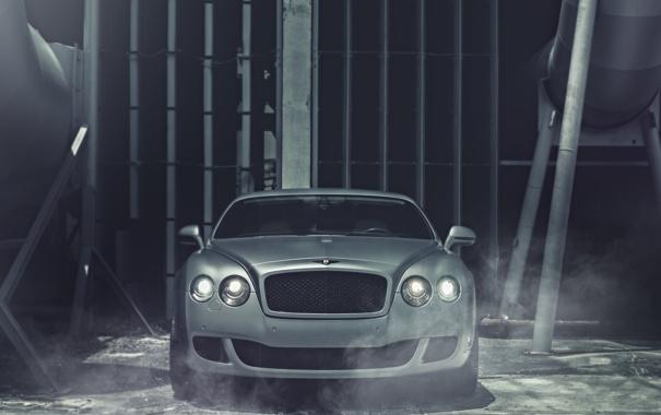 Фото обои Bentley, Continental, матовый, перед, front, бентли, Matte