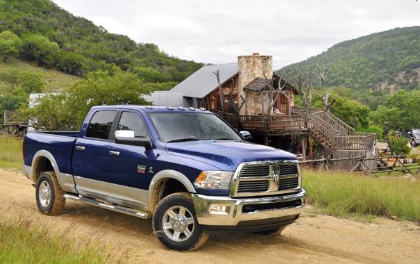 Фото обои пейзаж, Dodge, Ram, 3500