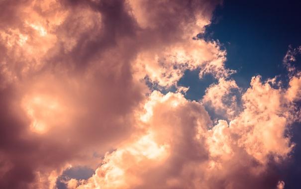 Фото обои Облака, небо, тучи, sky