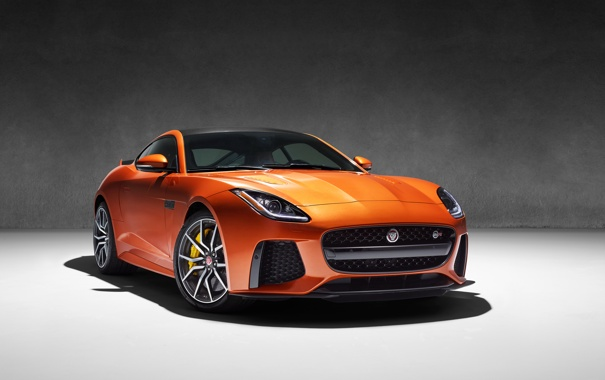 Фото обои фон, купе, Jaguar, ягуар, Coupe, F-Type