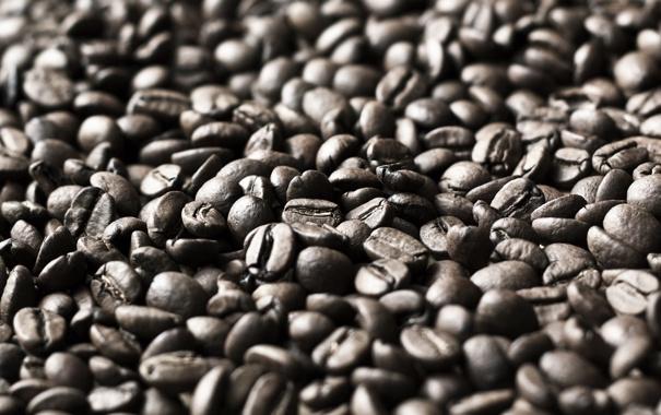 Фото обои фон, кофе, зерна, текстура, coffee