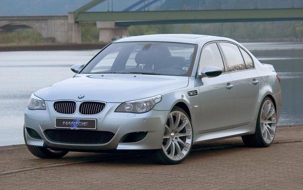 Фото обои BMW, e60, Hartge