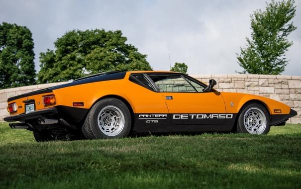 Фото обои Пантера, 1971, GTS, De Tomaso, Pantera, Де Томасо