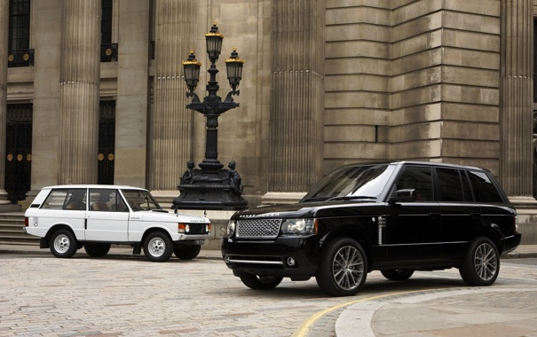 Фото обои машины, land rover, range rover, auto wallpapers