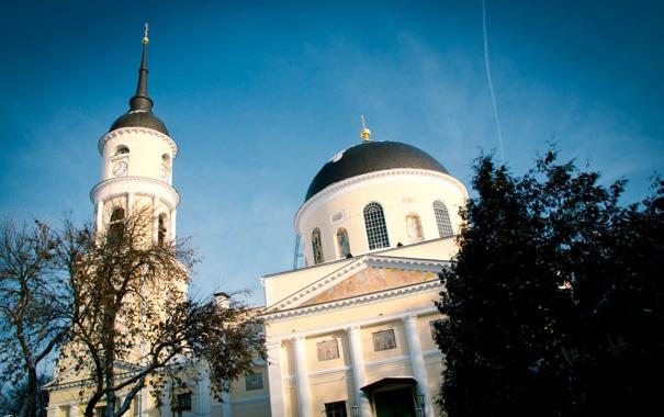 Фото обои Калуга, Kaluga, Калужский Свято-Троицкий кафедральный собор