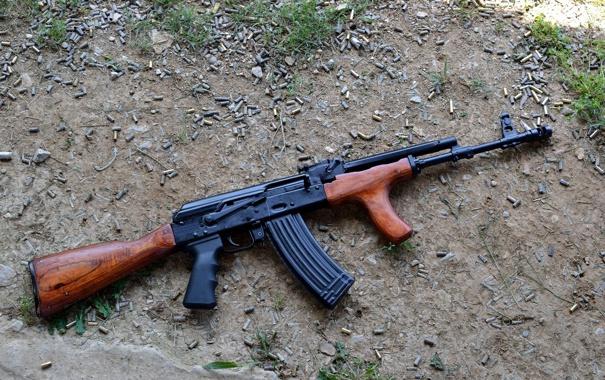 Фото обои оружие, ружьё, карабин, Сайга, самозарядное