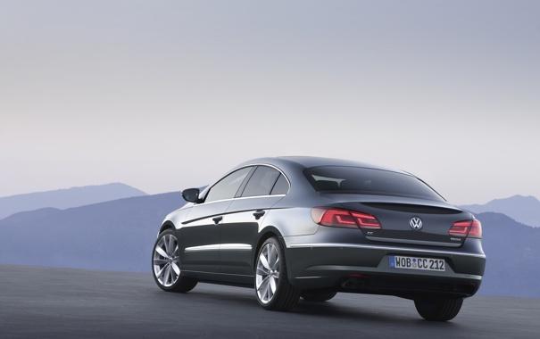 Фото обои Volkswagen, cars, auto, cars walls, обои авто, 2013, Passat CC