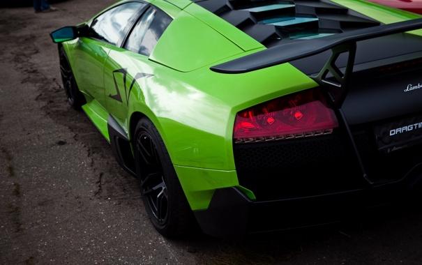 Фото обои Murcielago, Lamborghini, superveloce
