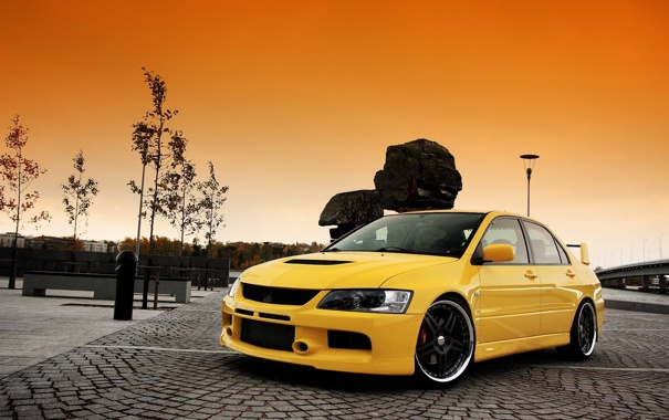Фото обои wallpers, auto, Mitsubishi Lancer