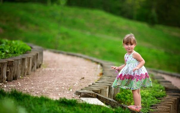 Фото обои лето, настроение, девочка