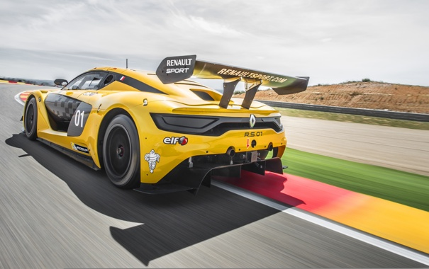 Фото обои Renault, суперкар, рено, Sport, 2014, RS 01