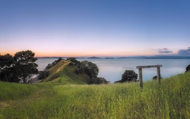 Фото обои New Zealand, Whakakaiwhara Point, Duder Regional park