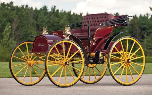 Фото обои авто, машины, колеса, классика, раритет, откидная, крыша.