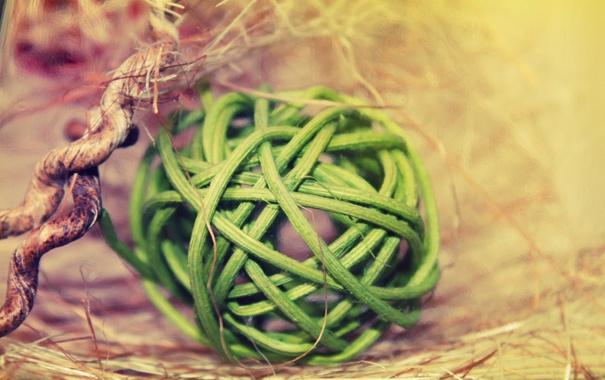 Фото обои шарик, самоделка, загагулина