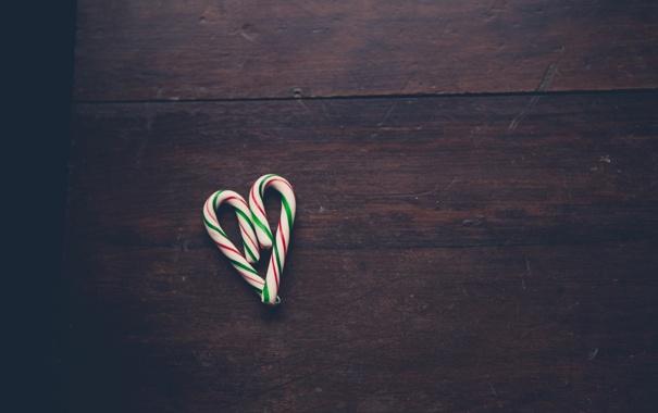 Фото обои сердце, леденец, сердечко, сладкое