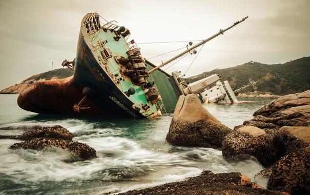 Фото обои Hong Kong, ship, Cheung Chau