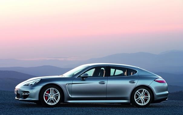 Фото обои Porsche, фото, порше, Panamera, обои, машины, пейзажи