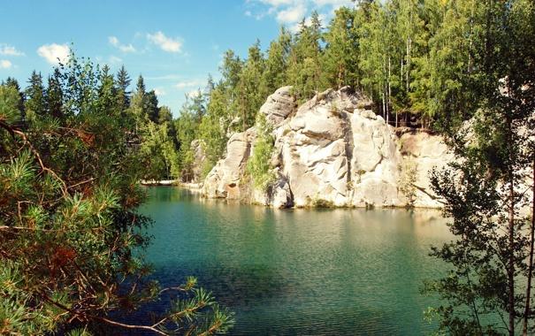 Фото обои water, lake, karlovy vary czech republic