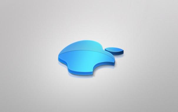 Фото обои Apple, blue, incorporated
