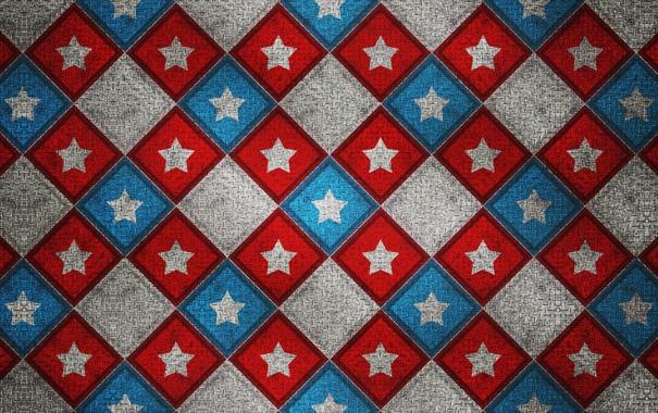 Фото обои узор, звезда, цвет, квадрат