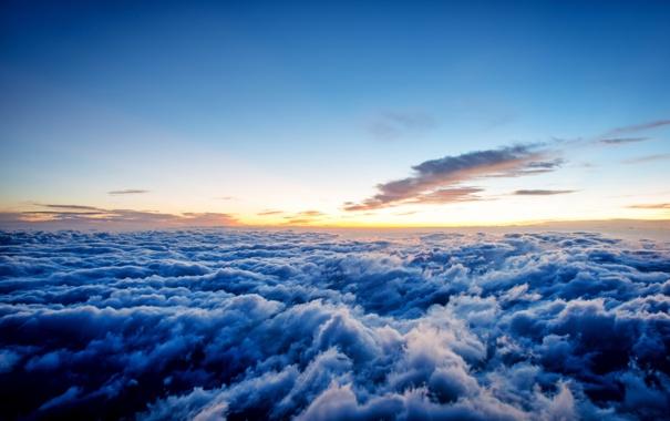Фото обои небо, пейзаж, облока