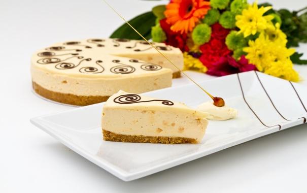 Фото обои цветы, еда, букет, торт, cake, десерт, food
