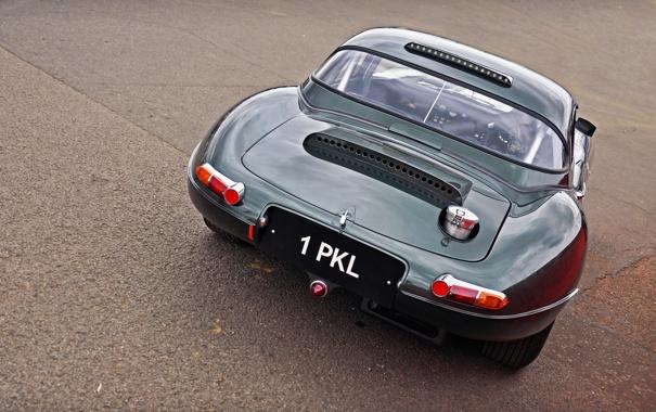 Фото обои фото, Jaguar, Classic, классика, cars, auto, вид с зади