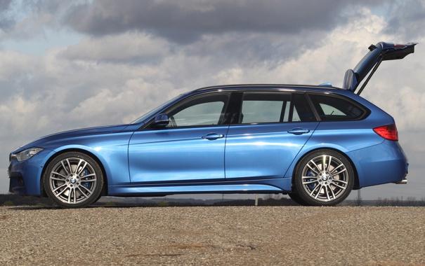 Фото обои машина, бмв, BMW, вид сбоку, Touring, Sports Package, 330d