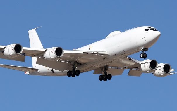 Фото обои авиация, самолёт, Boeing E-6B Mercury