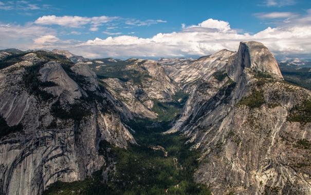 Фото обои пейзаж, горы, природа, парк, yosemite national park