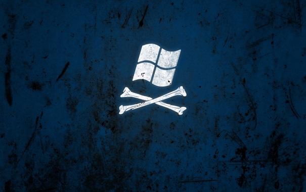 Фото обои логотип, текстура, кости