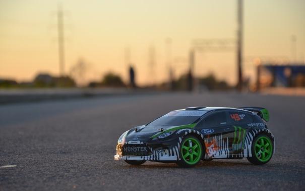 Фото обои drift, Ken Block, Ford Fiesta